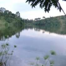 crater lakes in kibale