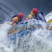rafting at the Nile